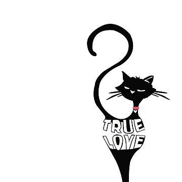 True Love Cat by marinn