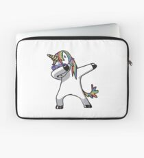 Dabbing Rave Unicorn Laptop Sleeve