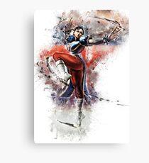 Chun Li - Street Fighter Canvas Print