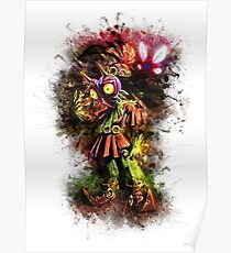 Skull Kid Majora Mask - Zelda Poster