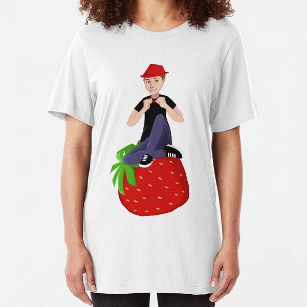 Callie Booth's Jambareeqi Drawing Slim Fit T-Shirt