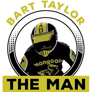 "Bart ""The Man"" Taylor FULL COLOR by mark5four0"