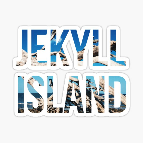 Jekyll Island Sticker