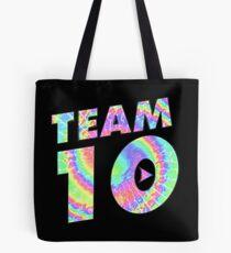 Team 10 Tie Dye Jake Paul Tote Bag
