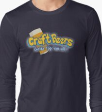 Pokemon meets craft beers Long Sleeve T-Shirt