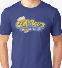 Pokemon meets craft beers Unisex T-Shirt