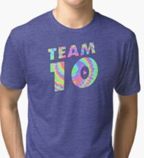 Team 10 Tie Dye Jake Paul Tri-blend T-Shirt