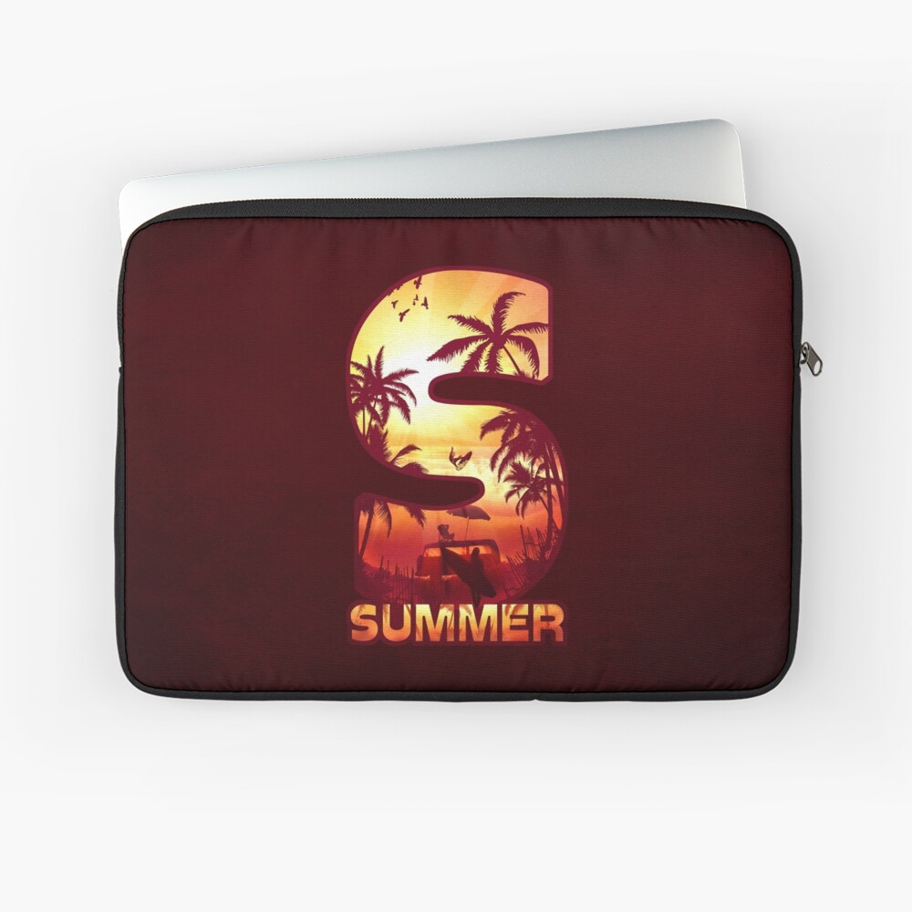 S for Summer Laptop Sleeve