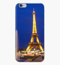 the tour eiffel in paris the night iPhone Case