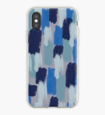 Blue Jean Baby Painted iPhone Case