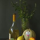Fruit, Mint and Wine by Gilberte