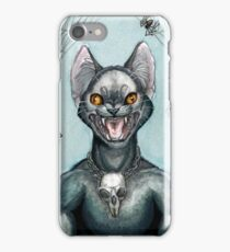 The Black Cat iPhone Case/Skin