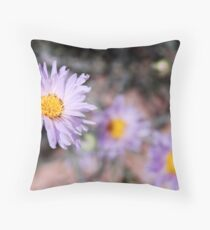 Mojave Asters Throw Pillow