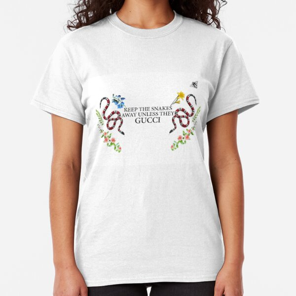 Snakes & Flowers Classic T-Shirt