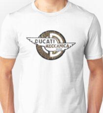 Ducati Meccanica BRONZE DISTRESSED Unisex T-Shirt