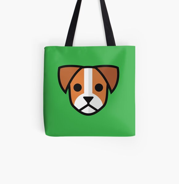 Jack Russell Terrier All Over Print Tote Bag