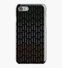 Fuck You Pin Stripe Tri Colour iPhone Case/Skin