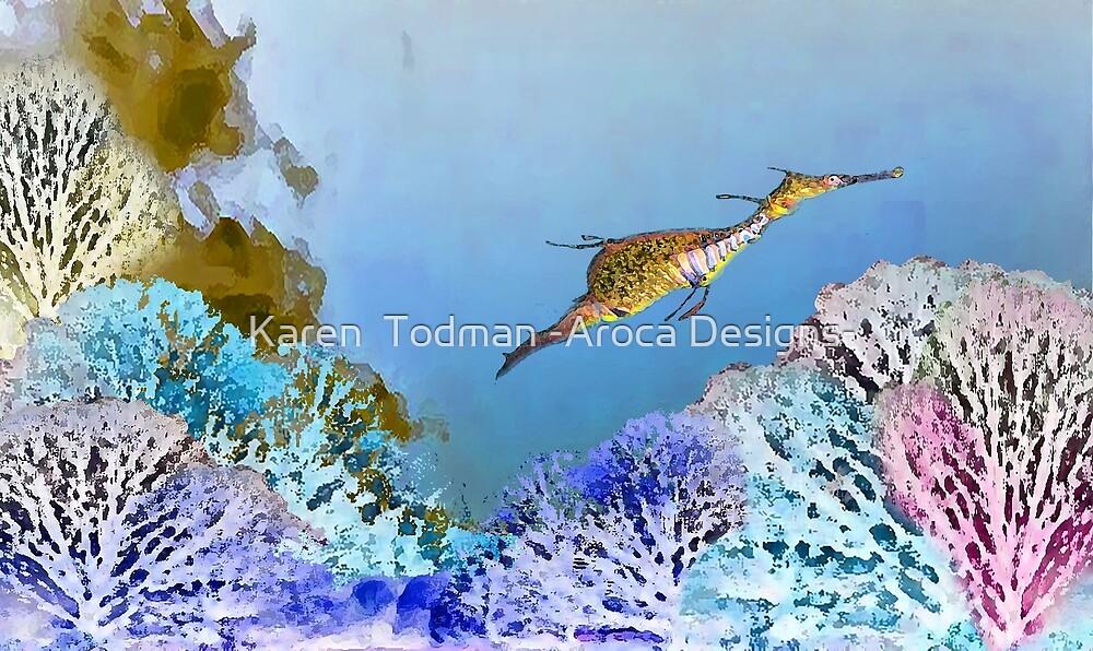 Sea Dragon by Karen  Todman -Aroca Designs-