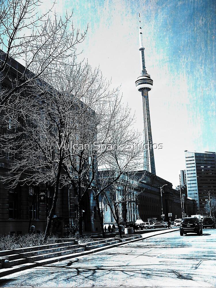 CN Tower 3 by Vulcan Spark Studios