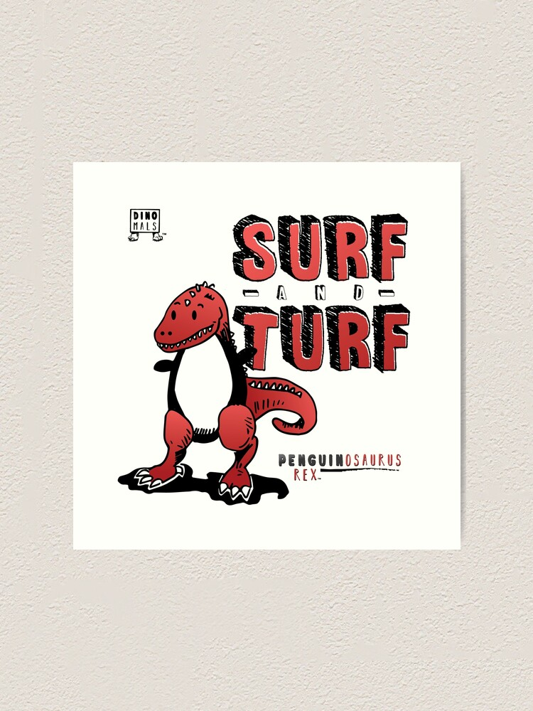 Alternate view of Surf and Turf Art Print