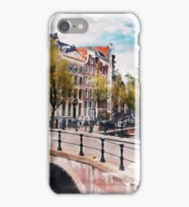 AMSTERDAM, Netherlands - Beautiful Earth [Custom Digital Artwork] iPhone Case/Skin