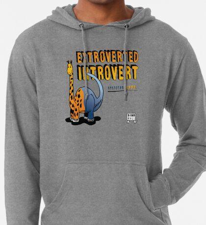 Extroverted Introvert Lightweight Hoodie