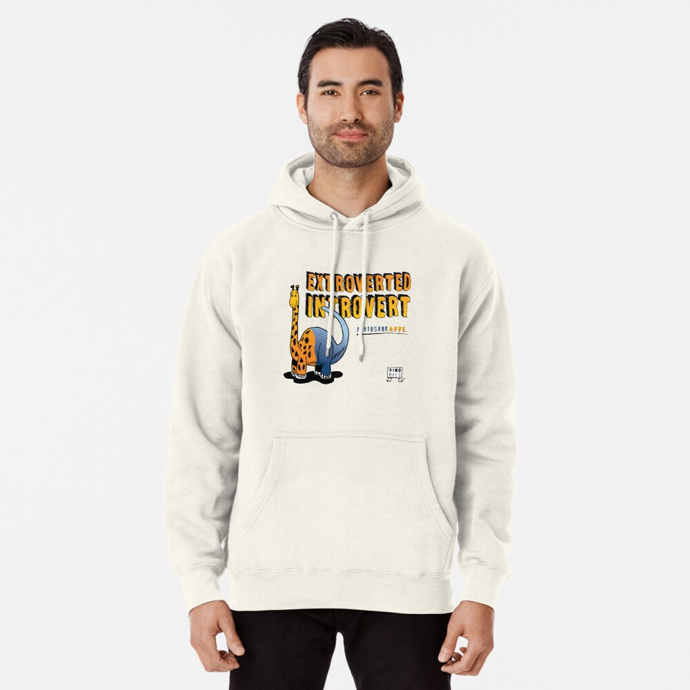 Extroverted Introvert Pullover Hoodie