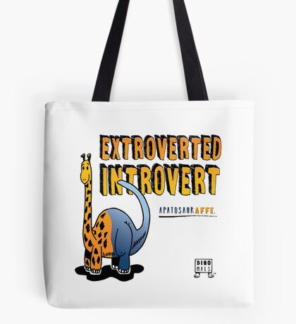 Extroverted Introvert Tote Bag