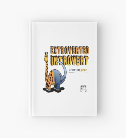 Extroverted Introvert Hardcover Journal