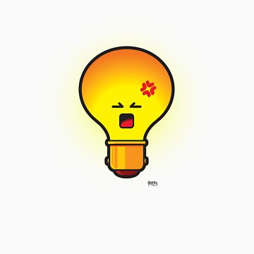 Angry Bulb by benitez