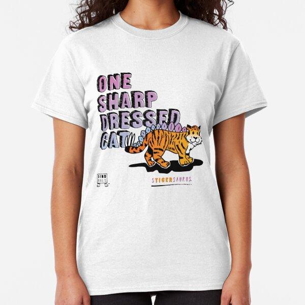 One Sharp Dressed Cat Classic T-Shirt