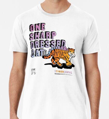 One Sharp Dressed Cat Premium T-Shirt