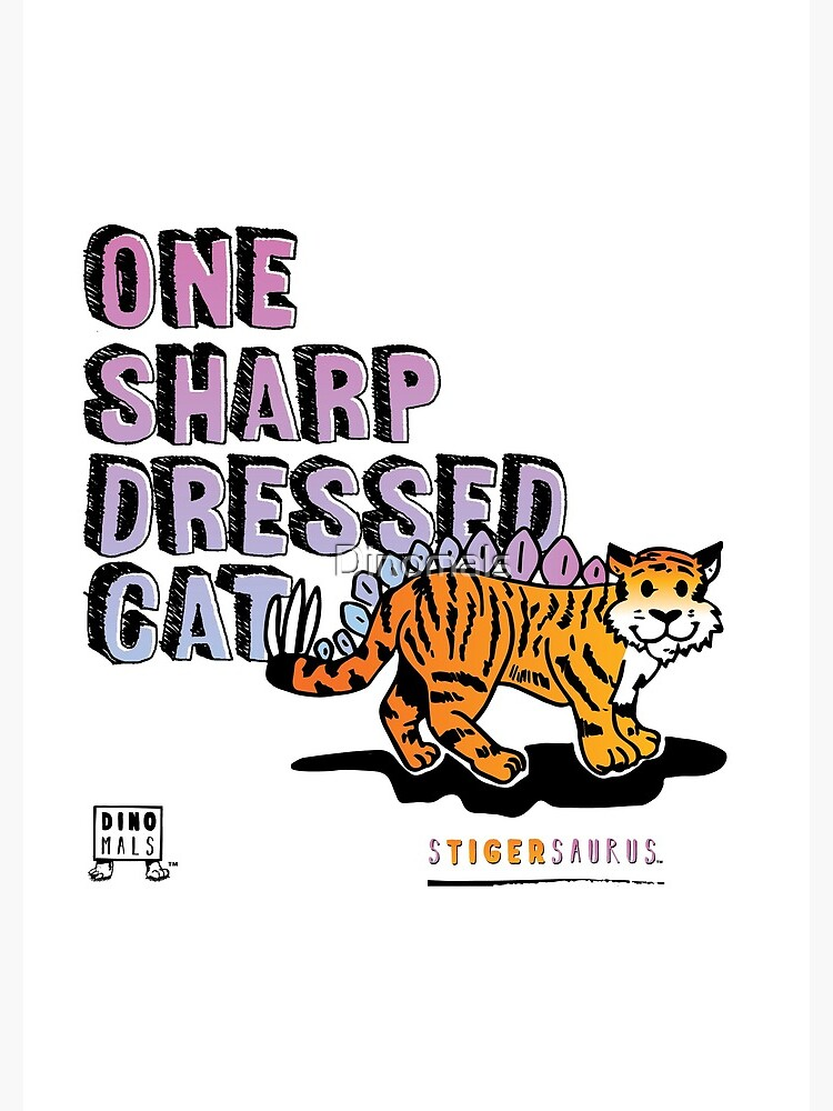 One Sharp Dressed Cat by Dinomals