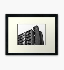 Park Hill Lift Shaft Framed Print