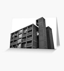 Park Hill Lift Shaft Greeting Card