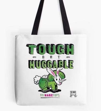 Tough but Huggable Tote Bag