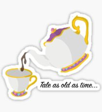 Tale as old as time... Sticker