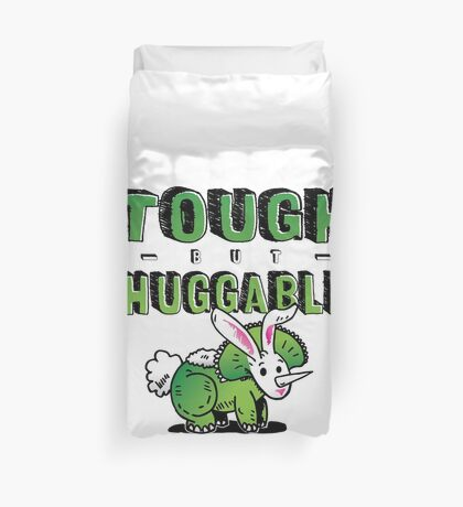 Tough but Huggable Duvet Cover