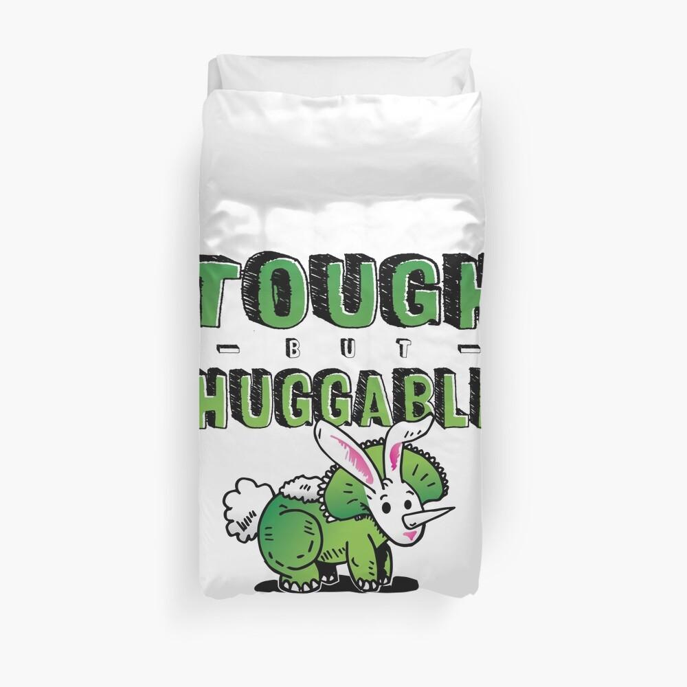 Tough but Huggable Duvet Cover