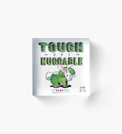 Tough but Huggable Acrylic Block