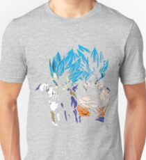 Goku and Vegeta - Super Saiyan Blue T-Shirt