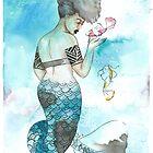 Midori | Inked Mermaids Series by InkedDesigns