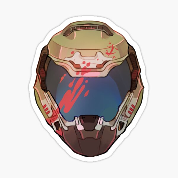 doom slayer  Sticker