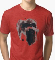 King Kong Ink Blot on Denham's Map Tri-blend T-Shirt