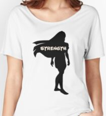 Princess of Strength Women's Relaxed Fit T-Shirt