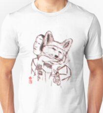 Kitsune Portrait Unisex T-Shirt
