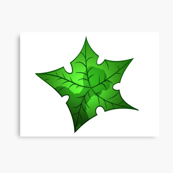 Tree Star Canvas Print