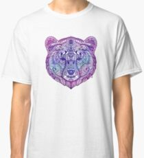 Grizzly Bear Story Art Paisley Classic T-Shirt