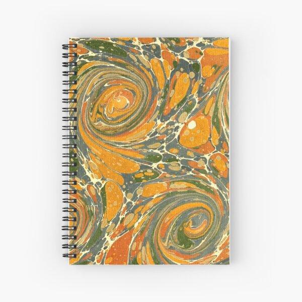 Old Marbled Paper 03 Cuaderno de espiral
