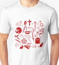 Buffy Symbology - Red T-Shirt